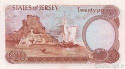 20 Pounds JERSEY  1983 P.14b NEUF
