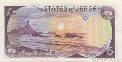 5 Pounds JERSEY  1989 P.16a NEUF