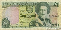 1 Pound JERSEY  1993 P.20a TB+
