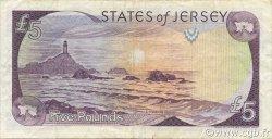 5 Pounds JERSEY  1993 P.21a TTB