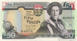 50 Pounds JERSEY  1993 P.24a NEUF