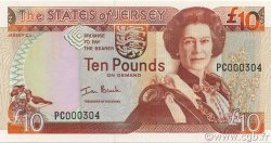 10 Pounds JERSEY  2000 P.28a NEUF