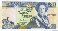 20 Pounds JERSEY  2000 P.29a NEUF