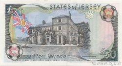 50 Pounds JERSEY  2000 P.30a NEUF