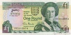 1 Pound JERSEY  2004 P.31a NEUF