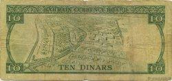 10 Dinars BAHREIN  1964 P.06a pr.TB