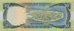10 Dirhams ÉMIRATS ARABES UNIS  1973 P.03a pr.NEUF