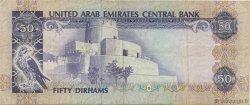 50 Dirhams ÉMIRATS ARABES UNIS  1982 P.09a TTB+