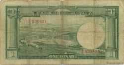 1 Dinar JORDANIE  1952 P.06a pr.TB