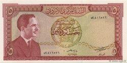 5 Dinars JORDANIE  1959 P.15b pr.SPL
