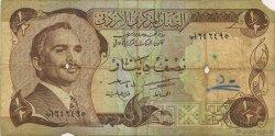 1/2 Dinar JORDANIE  1975 P.17a B