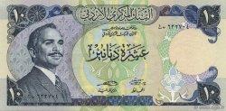 10 Dinars JORDANIE  1975 P.20c NEUF