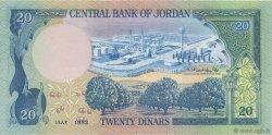 20 Dinars JORDANIE  1982 P.22b NEUF