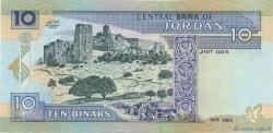 10 Dinars JORDANIE  1992 P.26 NEUF