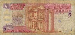 5 Dinars JORDANIE  1997 P.30b B+