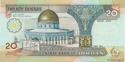 20 Dinars JORDANIE  1995 P.32a NEUF