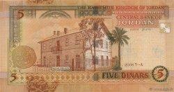 5 Dinars JORDANIE  2008 P.35c pr.NEUF