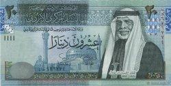 20 Dinars JORDANIE  2002 P.37a NEUF