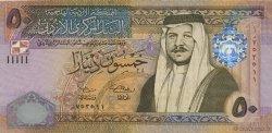 50 Dinars JORDANIE  2002 P.38a pr.SUP