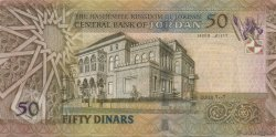 50 Dinars JORDANIE  2002 P.38a pr.NEUF