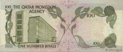100 Riyals QATAR  1973 P.05a SUP à SPL