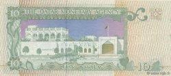 10 Riyals QATAR  1980 P.09 pr.SPL