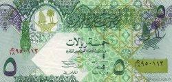 5 Riyals QATAR  2003 P.21 TTB+