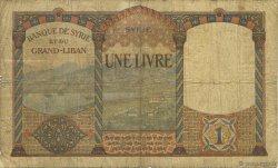 1 Livre SYRIE  1939 P.039A B+