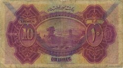 10 Livres SYRIE  1939 P.042d B+