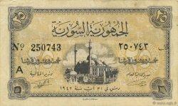 25 Piastres SYRIE  1942 P.053 TTB