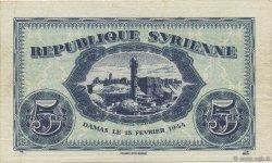 5 Piastres SYRIE  1944 P.055 TTB+