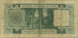 50 Livres SYRIE  1950 P.077 B+
