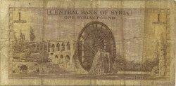 1 Pound SYRIE  1963 P.093a B+