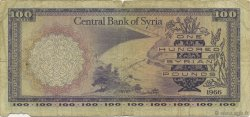 100 Pounds SYRIE  1966 P.098a B