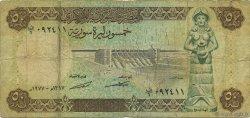 50 Pounds SYRIE  1977 P.103a pr.TB