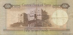 50 Pounds SYRIE  1991 P.103e TTB