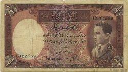 1/2 Dinar IRAK  1935 P.008 TB