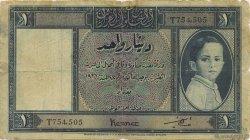 1 Dinar IRAK  1942 P.018 B+