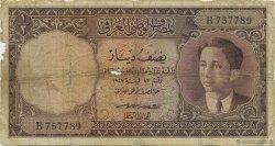 1/2 Dinar IRAK  1950 P.028 B