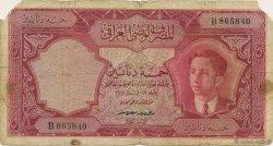 5 Dinars IRAK  1950 P.030 B