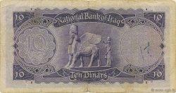 10 Dinars IRAK  1950 P.031 TTB