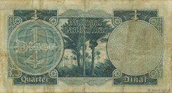 1/4 Dinar IRAK  1947 P.032 TB