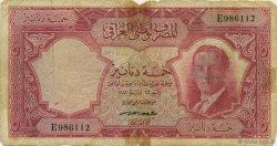 5 Dinars IRAK  1947 P.035 AB