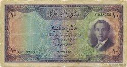 10 Dinars IRAK  1947 P.036 B