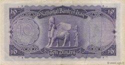10 Dinars IRAK  1947 P.036 TTB