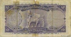 10 Dinars IRAK  1947 P.041- B+