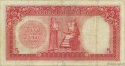 5 Dinars IRAK  1947 P.049 TB