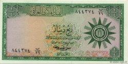 1/4 Dinar IRAK  1959 P.051b NEUF