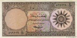 1/2 Dinar IRAK  1959 P.052b SUP