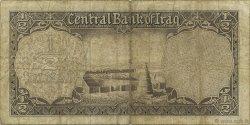 1/2 Dinar IRAK  1959 P.052b B+